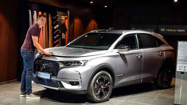 DS 7 Crossback. Вы должны это увидеть!
